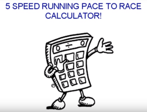 5 Speed Running Pace Calculator